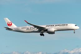 りおんさんが、羽田空港で撮影した日本航空 A350-941の航空フォト(飛行機 写真・画像)