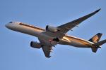 we love kixさんが、関西国際空港で撮影したシンガポール航空 A350-941の航空フォト(飛行機 写真・画像)