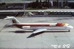tassさんが、パリ オルリー空港で撮影したイベリア航空 DC-9-32の航空フォト(飛行機 写真・画像)