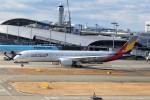 PW4090さんが、関西国際空港で撮影したアシアナ航空 A350-941XWBの航空フォト(飛行機 写真・画像)
