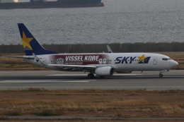 endress voyageさんが、神戸空港で撮影したスカイマーク 737-8ALの航空フォト(飛行機 写真・画像)