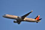 we love kixさんが、関西国際空港で撮影したフィリピン航空 A321-271Nの航空フォト(飛行機 写真・画像)
