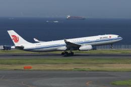 Sharp Fukudaさんが、羽田空港で撮影した中国国際航空 A330-343Eの航空フォト(飛行機 写真・画像)