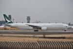 Izumixさんが、成田国際空港で撮影したキャセイパシフィック航空 777-31Hの航空フォト(飛行機 写真・画像)