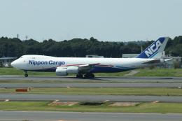 Sharp Fukudaさんが、成田国際空港で撮影した日本貨物航空 747-8KZF/SCDの航空フォト(飛行機 写真・画像)