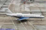 Chofu Spotter Ariaさんが、羽田空港で撮影したアメリカ企業所有 G-IV Gulfstream IV-SPの航空フォト(飛行機 写真・画像)
