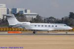 Chofu Spotter Ariaさんが、成田国際空港で撮影したガルフストリーム・エアロスペース G500 (G-VII)の航空フォト(飛行機 写真・画像)