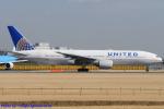 Chofu Spotter Ariaさんが、成田国際空港で撮影したユナイテッド航空 777-222の航空フォト(飛行機 写真・画像)