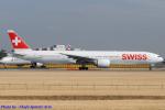 Chofu Spotter Ariaさんが、成田国際空港で撮影したスイスインターナショナルエアラインズ 777-3DE/ERの航空フォト(飛行機 写真・画像)