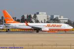 Chofu Spotter Ariaさんが、成田国際空港で撮影したチェジュ航空 737-82Rの航空フォト(飛行機 写真・画像)