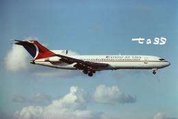tassさんが、マイアミ国際空港で撮影したカーニバル エアラインズ 727-225/Advの航空フォト(飛行機 写真・画像)
