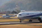 小型機専門家さんが、高知空港で撮影した全日空 767-381/ERの航空フォト(飛行機 写真・画像)