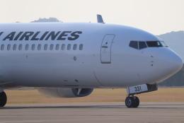 小型機専門家さんが、高知空港で撮影した日本航空 737-846の航空フォト(飛行機 写真・画像)