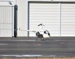 kuriko21さんが、東京ヘリポートで撮影した日本フライトセーフティ R22 Beta IIの航空フォト(飛行機 写真・画像)