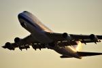 we love kixさんが、関西国際空港で撮影したチャイナエアライン 747-409F/SCDの航空フォト(飛行機 写真・画像)