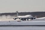 GRX135さんが、新千歳空港で撮影したタイ国際航空 747-4D7の航空フォト(飛行機 写真・画像)