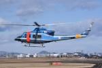 kumagorouさんが、仙台空港で撮影した大阪府警察 412EPの航空フォト(飛行機 写真・画像)