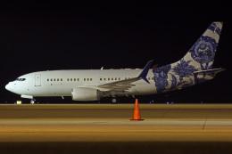 MOR1(新アカウント)さんが、中部国際空港で撮影したBBJ One 737-7CJ BBJの航空フォト(飛行機 写真・画像)
