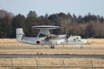 宮崎 育男さんが、茨城空港で撮影した航空自衛隊 E-2C Hawkeyeの航空フォト(飛行機 写真・画像)