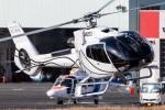 まんぼ しりうすさんが、東京ヘリポートで撮影したオートパンサー EC130B4の航空フォト(飛行機 写真・画像)