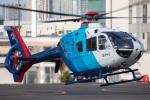 まんぼ しりうすさんが、東京ヘリポートで撮影した中日新聞社 EC135P2の航空フォト(飛行機 写真・画像)