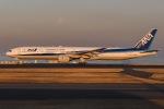 あっくんkczさんが、羽田空港で撮影した全日空 777-381の航空フォト(飛行機 写真・画像)