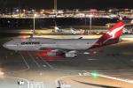 MOR1(新アカウント)さんが、羽田空港で撮影したカンタス航空 747-438の航空フォト(飛行機 写真・画像)