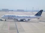Shibataさんが、中部国際空港で撮影したタイ国際航空 747-4D7の航空フォト(飛行機 写真・画像)