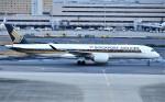 鉄バスさんが、羽田空港で撮影したシンガポール航空 A350-941の航空フォト(飛行機 写真・画像)