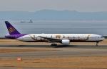 SKY TEAM B-6053さんが、中部国際空港で撮影したタイ国際航空 777-3D7の航空フォト(飛行機 写真・画像)