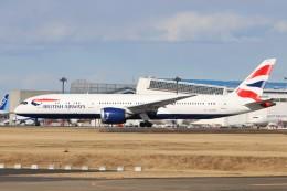 YASKYさんが、成田国際空港で撮影したブリティッシュ・エアウェイズ 787-9の航空フォト(飛行機 写真・画像)