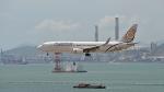 flytaka78さんが、香港国際空港で撮影したミャンマー・ナショナル・エアウェイズ 737-86Nの航空フォト(飛行機 写真・画像)
