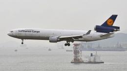flytaka78さんが、香港国際空港で撮影したルフトハンザ・カーゴ MD-11Fの航空フォト(飛行機 写真・画像)