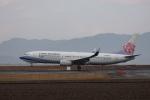 MIRAGE E.Rさんが、出雲空港で撮影したチャイナエアライン 737-8SHの航空フォト(飛行機 写真・画像)