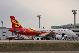 MIRAGE E.Rさんが、米子空港で撮影した香港航空 A320-214の航空フォト(飛行機 写真・画像)