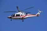 kumagorouさんが、仙台空港で撮影した東北エアサービス AW169の航空フォト(飛行機 写真・画像)