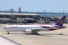 クロマティさんが、中部国際空港で撮影したタイ国際航空 777-2D7の航空フォト(飛行機 写真・画像)