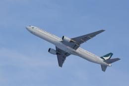 yuu@HKD/RJCHさんが、新千歳空港で撮影したキャセイパシフィック航空 777-31Hの航空フォト(飛行機 写真・画像)