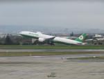 aquaさんが、台湾桃園国際空港で撮影したエバー航空 777-35E/ERの航空フォト(飛行機 写真・画像)