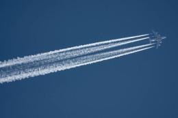 planetさんが、ヴェネツィア マルコ・ポーロ国際空港で撮影したエミレーツ航空 A380-861の航空フォト(飛行機 写真・画像)