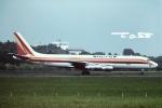 tassさんが、成田国際空港で撮影したコニー・カリッタ・サービシーズ DC-8-55(F)の航空フォト(飛行機 写真・画像)