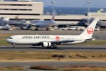 kaeru6006さんが、羽田空港で撮影した日本航空 767-346/ERの航空フォト(飛行機 写真・画像)