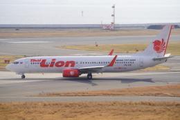 SFJ_capさんが、関西国際空港で撮影したタイ・ライオン・エア 737-8GPの航空フォト(飛行機 写真・画像)