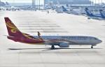 鉄バスさんが、関西国際空港で撮影した海南航空 737-84Pの航空フォト(飛行機 写真・画像)