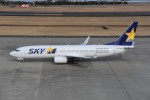 kumagorouさんが、仙台空港で撮影したスカイマーク 737-8ALの航空フォト(飛行機 写真・画像)