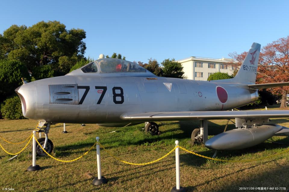 n-sakaさんの航空自衛隊 Mitsubishi F-86 Sabre  (82-7778) 航空フォト