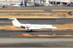 ハム太郎。さんが、羽田空港で撮影した金鹿航空 G-IV-X Gulfstream G450の航空フォト(飛行機 写真・画像)