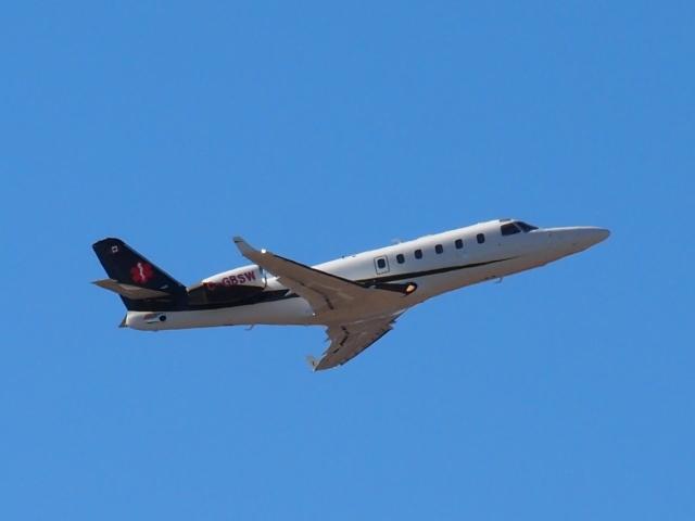 FT51ANさんが、成田国際空港で撮影したカナダ企業所有 1125 Astra SPXの航空フォト(飛行機 写真・画像)