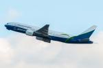 ぬるぽさんが、関西国際空港で撮影したボーイング・キャピタル 777-2J6の航空フォト(飛行機 写真・画像)