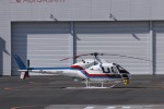 KAZFLYERさんが、東京ヘリポートで撮影した東邦航空 AS355F2 Ecureuil 2の航空フォト(飛行機 写真・画像)